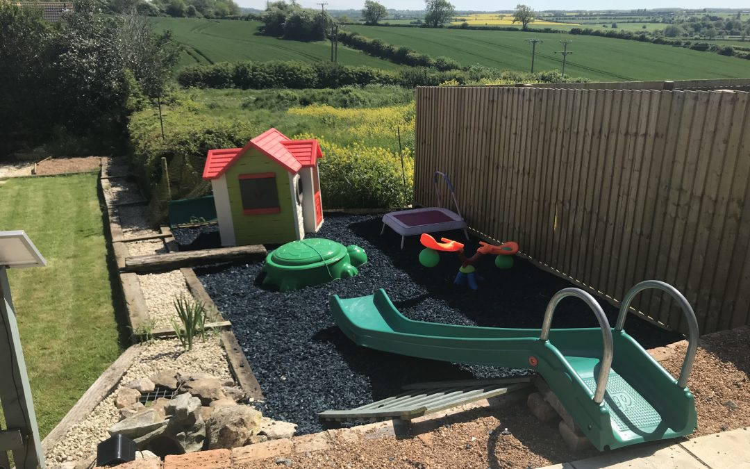 Eco Rubber Chippings take last minute orders