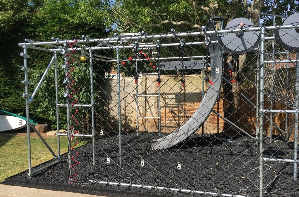 Eco Chippings used for Ninja Warrior project